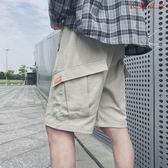男士寬鬆加肥加大碼五分休閒褲
