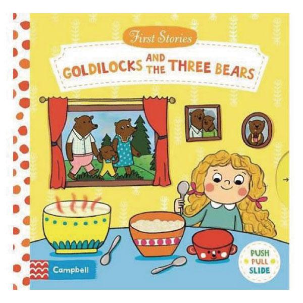 First Stories:Goldilocks And The Three Bears 金髮女孩與三隻熊 硬頁拉拉操作書