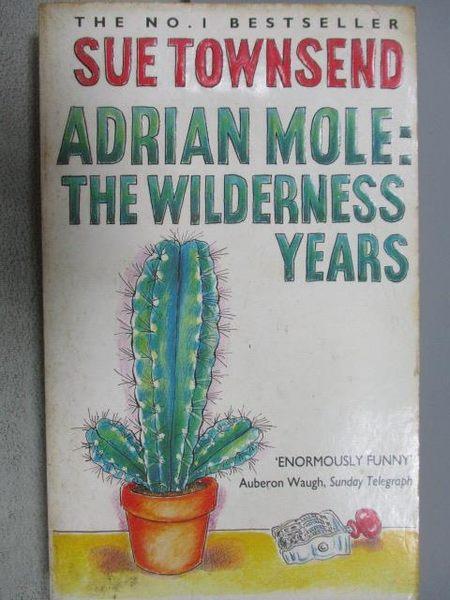 【書寶二手書T3/原文小說_MKG】Adrian Mole:The Wilderness Years_Sue