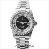 最佳禮物滿天星鑽錶 范倫鐵諾Valentino手錶 全不銹鋼材質打造 柒彩年代【NE975】原廠公司貨