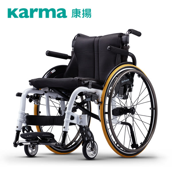 【康揚】鋁合金輪椅 樂弧 KM-9000 高活動款