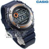 CASIO 數字錶 W-216H-2B 休閒運動時尚魅力 電子錶 藍色 W-216H-2BVDF 男錶 中性錶 運動錶 星期/日期