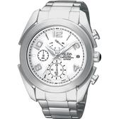 ALBA 雅柏 街頭玩家時尚逆跳計時手錶-銀 VD50-X009S(AS6073X)