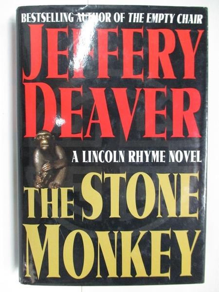 【書寶二手書T2/原文小說_AXX】The Stone Monkey_Jeffery Deaver