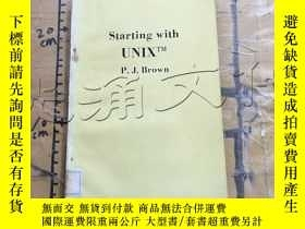二手書博民逛書店Starting罕見with UnixY252403 Peter