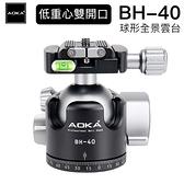 AOKA 風景季 BH40 低重心雙開口球型全景雲台 總代理六年保固
