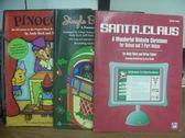 【書寶二手書T7/語言學習_PNA】Pinocchio_Santa.Claus等_共3本合售