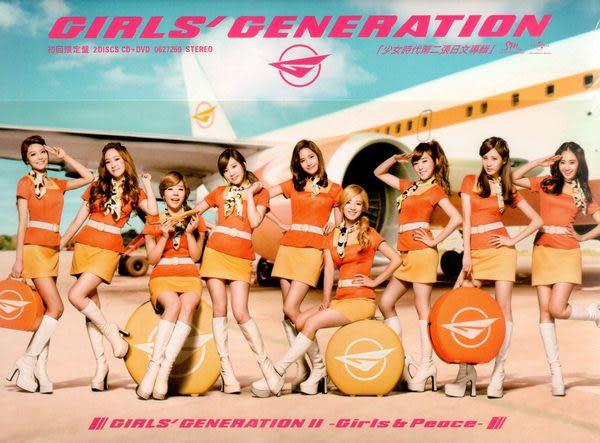 少女時代 Girls & Peace 初回限量盤 CD附DVD (音樂影片購)