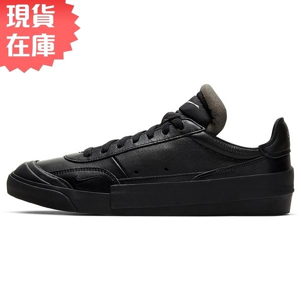 【現貨】Nike Drop-Type PRM 男鞋 休閒 復古 N.354 解構 皮革 黑【運動世界】CN6916-001