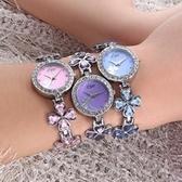 石英錶-四葉草風雅氣質手鍊造型女手錶6色71r47【時尚巴黎】