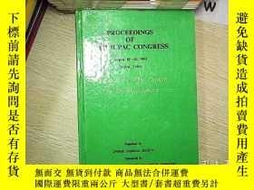 二手書博民逛書店PROCEEDING罕見OF 34TH IUPAC CONGRESS AUGUST 15-20 1993 1993
