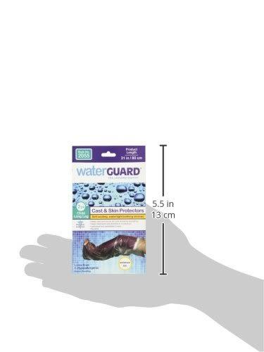 兒童傷口防水隔離套 美國原裝Waterguard  2入 腳腿套  適合海灘泳池林浴 [樂游小舖]