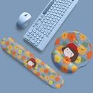 滑鼠墊 鼠標墊護腕女硅膠軟墊3D胸電競可愛ins風小號桌墊男生個性禁欲系日系 百分百