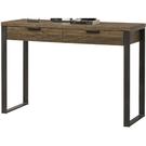 書桌 電腦桌 SB-255-9 雅博德經典胡桃色二抽玄關桌 (不含其它產品) 【大眾家居舘】
