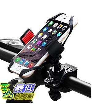 [美國直購] Bike Mount, Ipow Universal Cell Phone Bicycle Rack Handlebar & Motorcycle Holder Cradle 自行車支架 Black