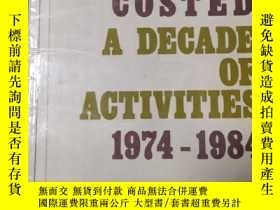 二手書博民逛書店COSTED罕見A DECADE OF ACTIVITIES 1