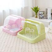 (超夯免運)居家家廚房帶蓋奶瓶瀝水架收納架置物架放碗碟架子杯子碗筷收納盒xw