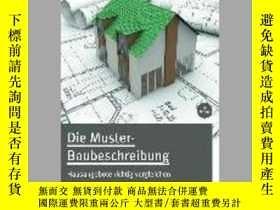 二手書博民逛書店Die罕見Muster-BaubeschreibungY405706 Horst Frank ISBN:97