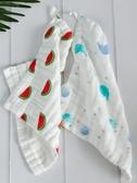 嬰兒純棉紗布毛巾 寶寶新生兒童六層手帕手絹口水巾 洗臉巾小方巾