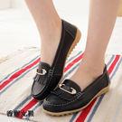休閒鞋 真皮典雅水鑽流蘇鞋 香榭