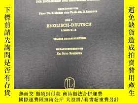 二手書博民逛書店【英德雙語辭典】Langenscheidt s罕見Encyclopaedic Dictionary of The