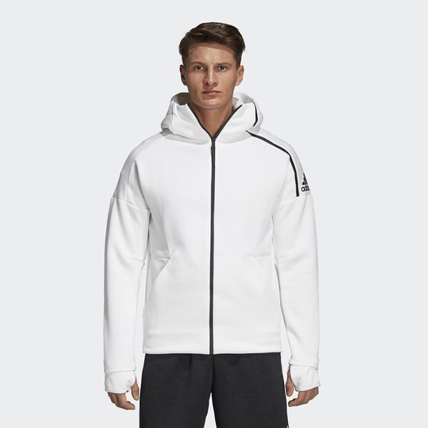 ADIDAS Z.N.E. FAST RELEASE 白色 訓練 連帽 運動 外套 男(布魯克林) CY9903