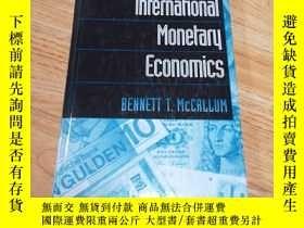 二手書博民逛書店International罕見Monetary EconomicsY313199