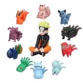 11款火影忍者尾獸公仔 模型 兒童玩具 擺件 扭蛋機娃娃