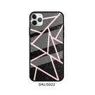 Galaxy S21手機套 三星S21文藝幾何大理石玻璃防摔保護殼 三星S21 Ultra個性手機殼 SamSung S21+保護套皮套