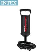 【INTEX】手壓充氣幫浦/打氣筒-高29cm(充氣商品加購品) 15220010(68612)