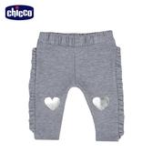 chicco To Be BG 脇邊荷葉彈性長褲
