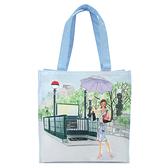 Reiko Aoki青木禮子Umbrella彩繪手提包730018-086
