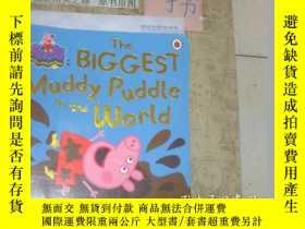 二手書博民逛書店英文原版《THE罕見BIGGEST MUDDY PUDDLE I