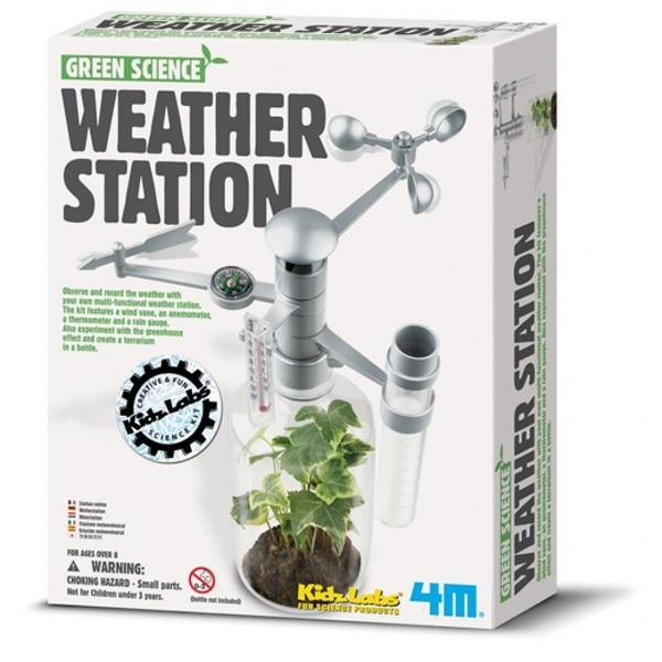 《4M科學探索》Weather Station 環保氣象台 / JOYBUS玩具百貨