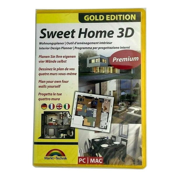 [9玉山最低比價網] 室內設計軟體 Sweet Home 3D - Interior Design Planner for Windows 10-8-7-Vista-XP & MAC