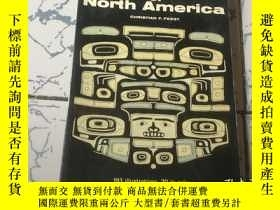 二手書博民逛書店native罕見arts of north america【英文