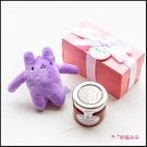 Double Love Pink盒裝 多彩綿綿兔(多色隨機)+果醬小禮盒 遊戲抽獎 婚禮小物 情人節 Tiptree