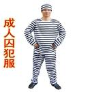 【塔克】囚犯 犯人 罪犯服(男款-三件組...