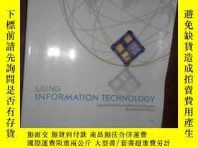 二手書博民逛書店Using罕見Information Technology: A