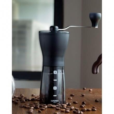 新款 日本原裝 HARIO 咖啡磨豆機 Hario MSS-1DTB 輕巧手搖磨豆機 黑色