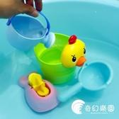 沙灘玩具-兒童玩具戲水車男孩女孩小黃鴨洗頭杯嬰兒寶寶灑水壺套裝沙灘-奇幻樂園