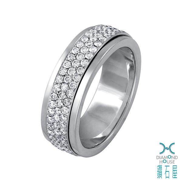 【鑽石屋】鑲鑽戒指