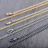 交換禮物-5mm包包鍊子包帶包包鍊條配件金屬包鍊包帶子金屬包帶子