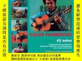 二手書博民逛書店【罕見】Mel Bay Play Solo Flamenco Guitar With Juan Martin Bo