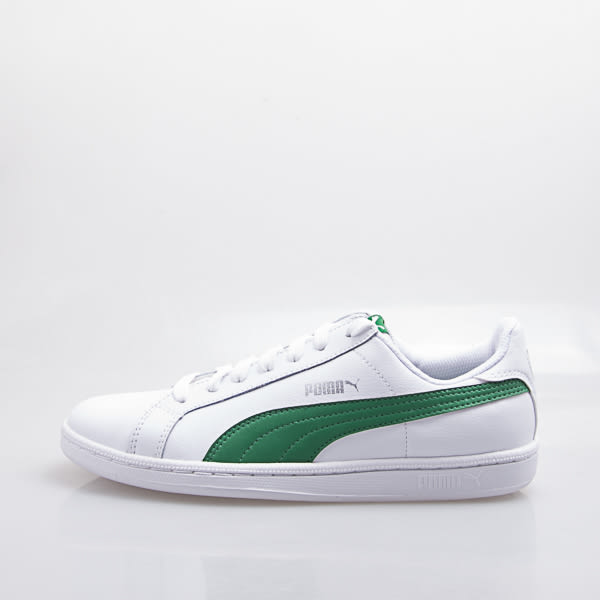 6折出清~PUMA   Smash L 男款 皮質 休閒 復古球鞋-白/綠 356722-22
