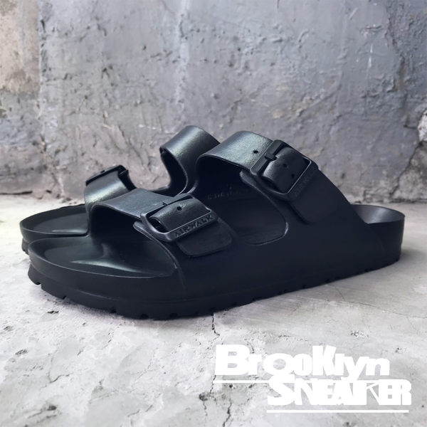 AIRWALK  雙扣 環類 勃肯 黑色 情侶鞋 拖鞋 橡膠 男女  (布魯克林) A755220-120