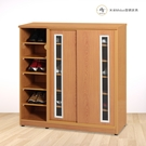 【米朵Miduo】3.6尺塑鋼拉門鞋櫃 防水塑鋼家具