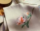 蘇州刺繡手工繡手帕雙層真絲