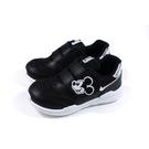 Disney Mickey Mouse 迪士尼 米奇 運動鞋 魔鬼氈 中童 童鞋 黑色 D120609 no025