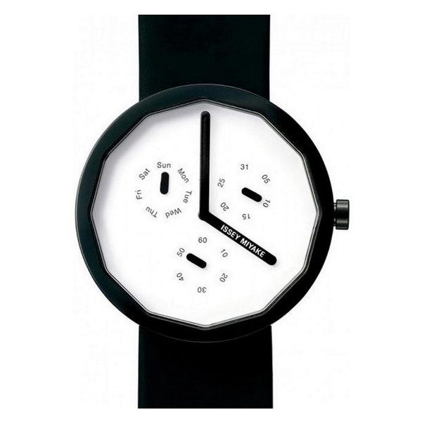 【萬年鐘錶】ISSEY MIYAKE 三宅一生設計師(Fukasawa Naoto 深澤直人)名錶 SILAP008Y(VD76-0010U)